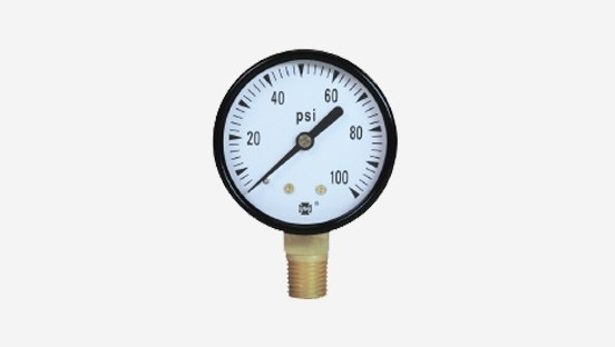 Low Lead-General Utility Pressure Gauge