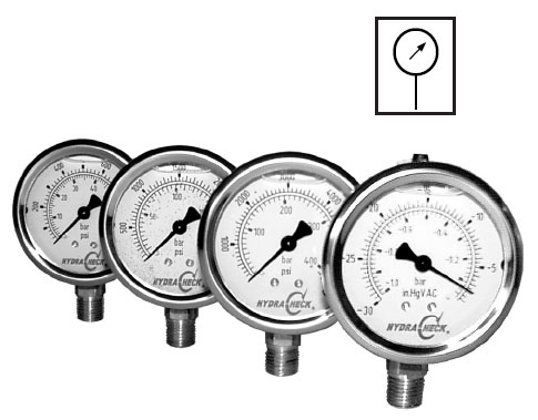 Liquid Filled Pressure Gauges