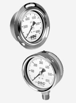 Model 656 Liquid filled pressure gauges