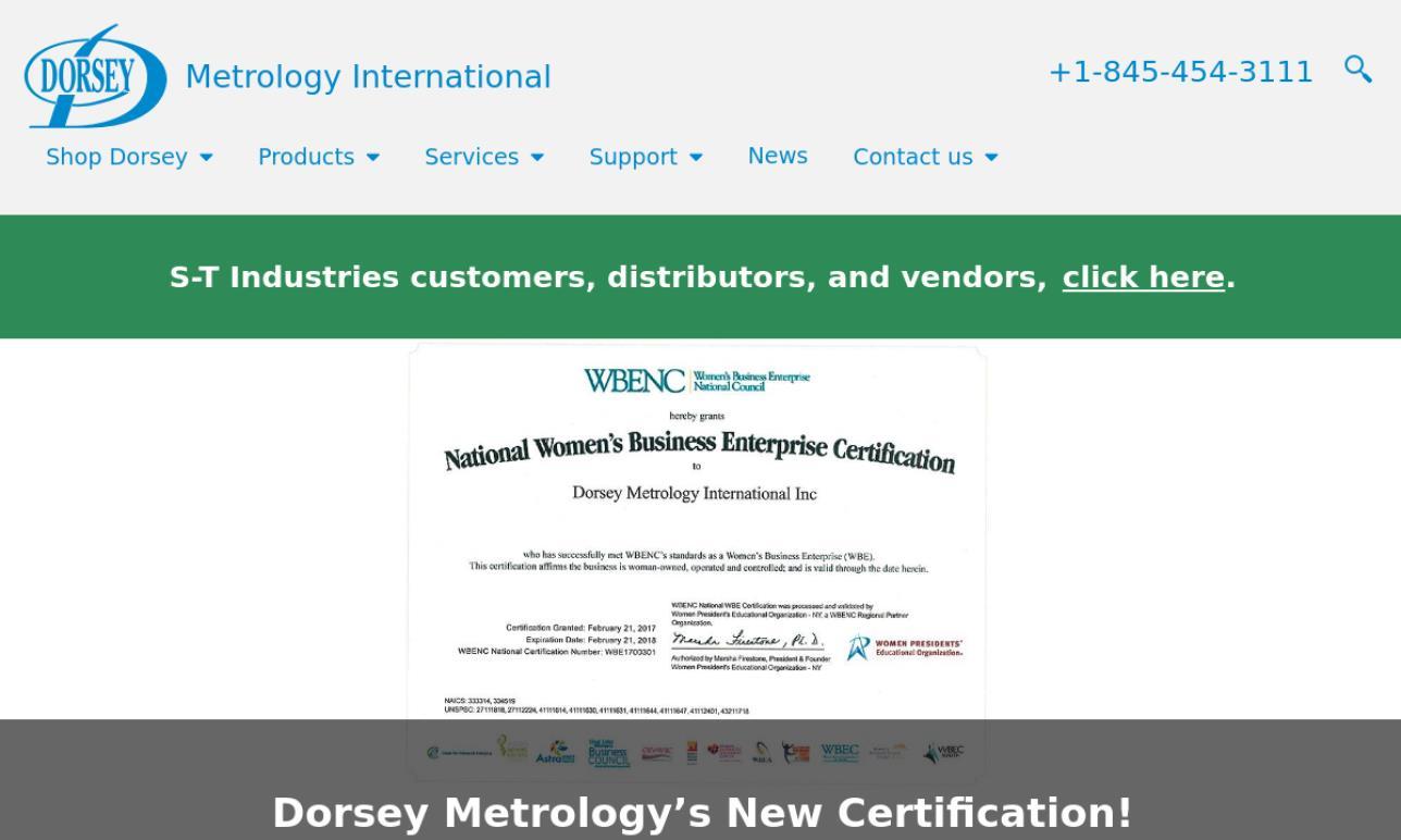 Dorsey Metrology International