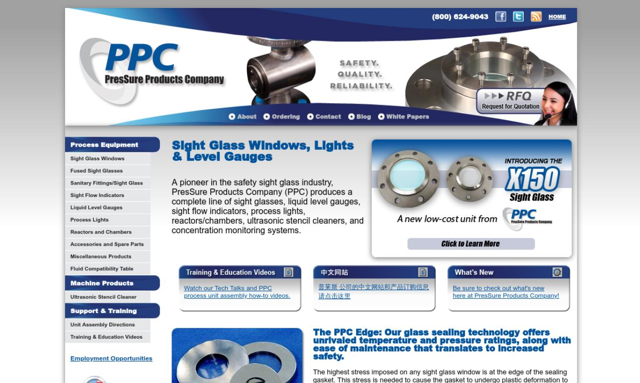 PresSure Products Company, Inc.