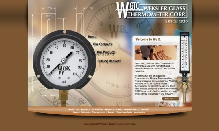 Weksler Glass Thermometer Corporation